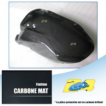 KTM Super Duke 990 R 2008-2013 Tête de Fourche Carbone Mat