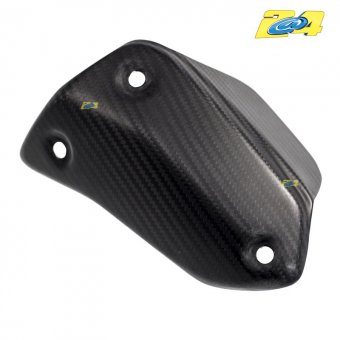 Ducati Hyperstrada 2013-2016 Protection Silencieux Carbone Mat