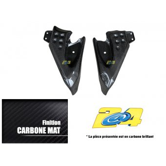 Yamaha T-Max 500 2008-2011 Caches Latéraux Carbone 2A4 Performance Brillant