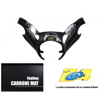 Yamaha T-Max 500 2008-2011 Cache Inférieur Guidon Carbone 2A4 Performance Brillant