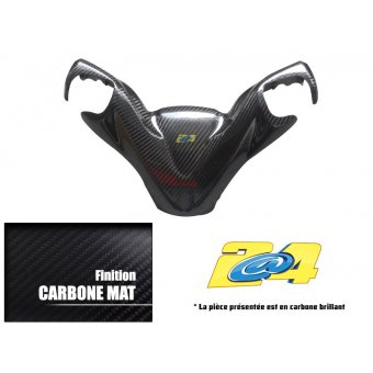 Yamaha T-Max 500 2008-2011 Cache Supérieur Guidon Carbone 2A4 Performance Brillant