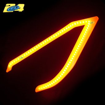 Daylight LED Orange Bloc Optique Phare Yamaha T-Max 530 2012-2014