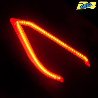 Daylight LED Rouge Bloc Optique Phare Yamaha T-Max 530 2012-2014
