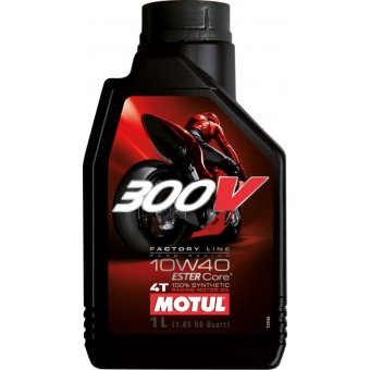 Motul 300V Factory Line Road Racing 10W40 1 Litre