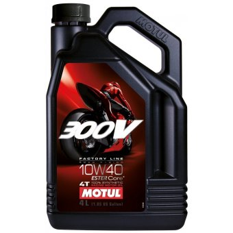 Motul 300V Factory Line Road Racing 10W40 4 Litres