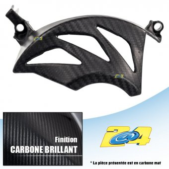 Yamaha MT09 2014 Protection Carter Embrayage Carbone Brillant