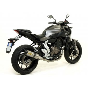Yamaha MT07 2014 Silencieux Thunder Carbone Embout Carbone Homologué