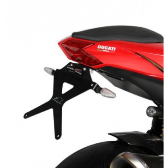 SUPPORT DE PLAQUE INCLINABLE DUCATI STREETFIGHTER