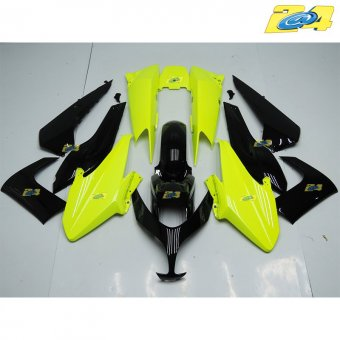 Yamaha T-Max 500 2008-2011 Carénage Complet ABS vert fluo