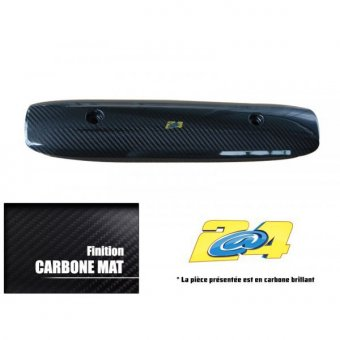 Protection Echappement Carbone Mat Yamaha T-Max 530 2015-2016