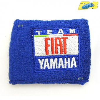 Protection Bocal Frein ou Embrayage Team Fiat Yamaha bleue