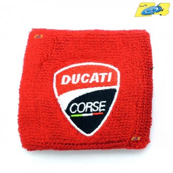 Protection Bocal Frein ou Embrayage Ducati Corse Rouge