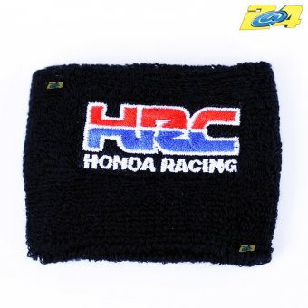 Protection de bocal de liquide de freins ou embrayage Honda racing Blanc