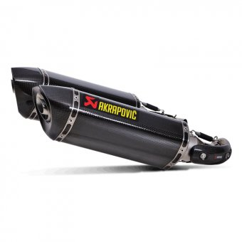S-D10SO7-HZC Silencieux Moto Akrapovic Monster 796 2010-2014 Carbone