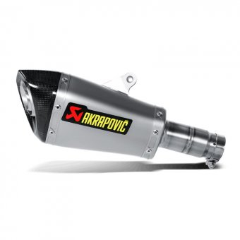 S-Y6SO9-ASZ Silencieux Slip-On Titane Akrapovic YZF R6 2010-2017