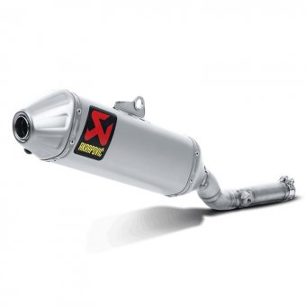 Silencieux Slip-On Titane Akrapovic KX 250 F 2009-2016