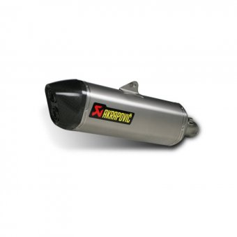 S-B13SO2C-HAAT Silencieux Slip-On Titane Akrapovic K 1200 GT 2006-2008 Homologation EC