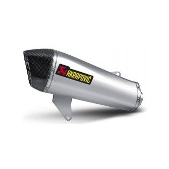 S-PI3SO4-HSS Silencieux Slip-On Inox Akrapovic X10 350 2012-2015 Homologation EC