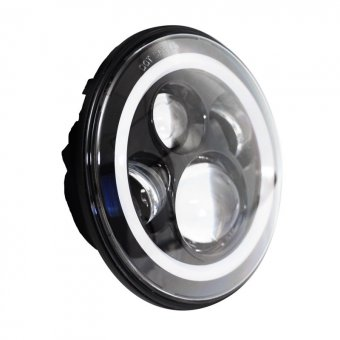 Optique Hellcat 7'' LED Ducati Monster 696 2008-2016