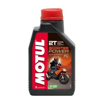 Motul SCOOTER POWER 4T 5W40 MA 1 Litre