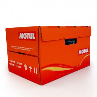 Motul Scooter Power 4T 5W40 1 Carton de 12 Bidons 1 litre