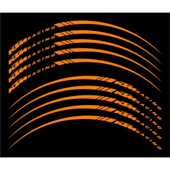 Wheel Stripes/Filets de jantes KTM Racing Orange