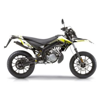 Kit Deco Up Spectrum Derbi Drd Xtreme 11 Noir Jaune