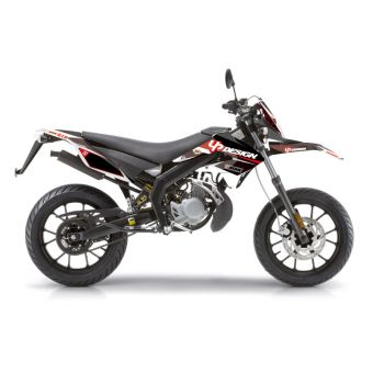 Kit Deco Up Draft Derbi Drd Xtreme Noir-Rouge
