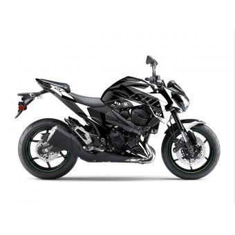 Kit Deco Up Maximize Kawasaki Z 800 Noir-Blanc
