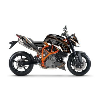 Kit Deco Up Maximize Ktm Super Duke 990 Noir Gris