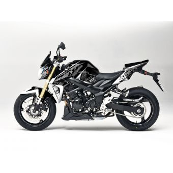 Kit Deco Up Maximize Suzuki Gsr 750 Noir-Blanc