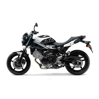 Kit Deco Up Maximize Suzuki Sv 650 Noir-Blanc