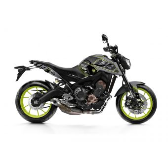 Kit Deco Up Maximize Yamaha Mt 09 Gris-Jaune