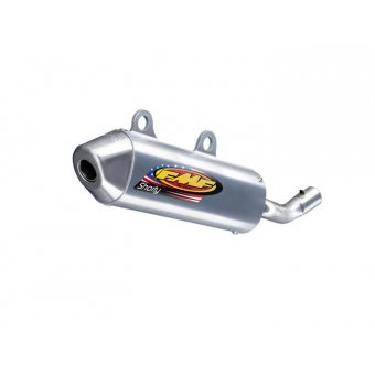 Suzuki Rm 250 2001-2002 Silencieux FMF Powercore 2 Shorty Alu/Inox