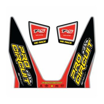 Kit Stickers Échappement T-5 Race System 12