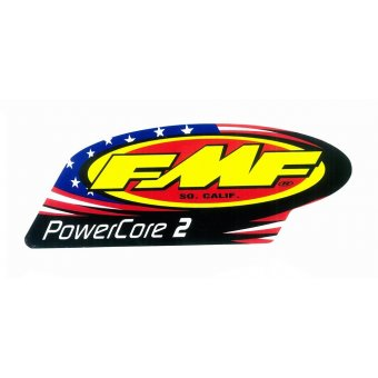 Kit Stickers Échappement Powercore 2 Patriotic