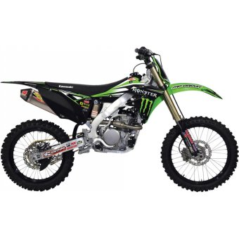 Kawasaki Klx 110 2010-2014 Kit Déco Pro Circuit Monster Energy/Pro Circuit/Kawasaki Race Team Kit