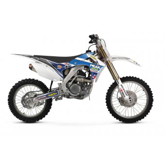 Honda Crf 450 R 2013-2015 Kit Déco Pro Circuit Peak Retro Kit