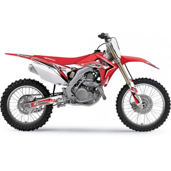 Honda Crf 450 R 2002-2004 Kit Déco Flu Designs Pro Team Series 2 Pts2