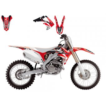 Honda Cr 125 1998-1999 Kit Déco Blackbird Dream 3
