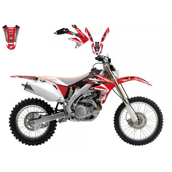 Honda Cr 250 1997-1999 Kit Déco Blackbird Dream 3