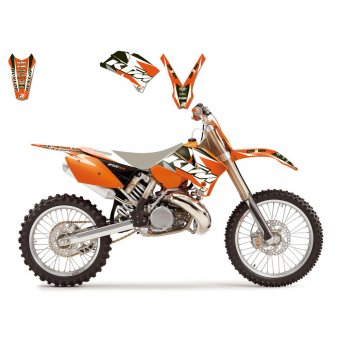 Ktm Exc 2001-2002 Kit Déco Blackbird Dream 3