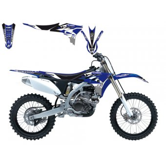 Yamaha Yz 85 2002-2014 Kit Déco + Housse Blackbird Dream 3