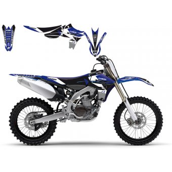 Yamaha Yz 125 2002-2014 Kit Déco + Housse Blackbird Dream 3