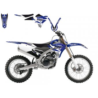 Yamaha Yz 250 2002-2014 Kit Déco + Housse Blackbird Dream 3