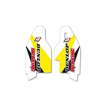 Suzuki Rmz 250 2007-2017 Kit Blackbird Protection Fourche
