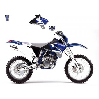Yamaha Yz 250 F 2006-2009 Kit Déco Blackbird Dream 3