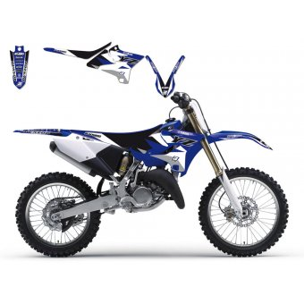 Suzuki Rm 250 2001-2017 Kit Déco + Housse Blackbird Dream 3