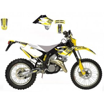Ycf Factory Sp III F 150 2014-2017 Kit Déco Arma Energy Jaune