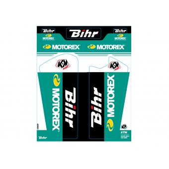 Ktm Sx 125 &+ 2008-2014 Stickers Protections Fourche